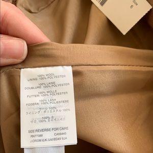 J. Crew Skirts - New! J.Crew Wool Pencil Skirt, Camel, Size 6